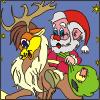 Santa Claus Colring page