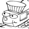 Train Coloring 2