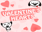 Valentines hearts game